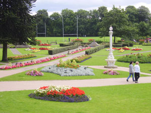 Jubilees Gardens in Summer.